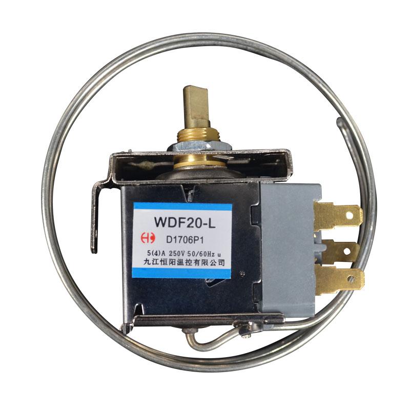 2 Pin WPF-20 Terminals Gefrierschrank Kühlschrank Thermostat mit Metallschnur /_T