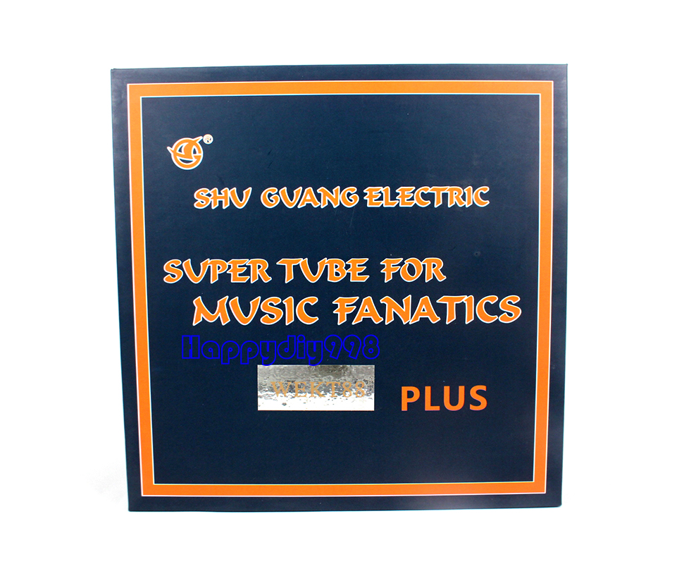 2pc = 1 emparejado Shuguang vacuume Tubo wekt 88 Plus KT88 para armar uno mismo de Audio Amplificador De Tubo
