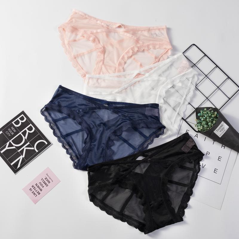 Women Ladies Hipster Floral Sheer Lace Panty Panties Bikini Briefs Underwear Hot