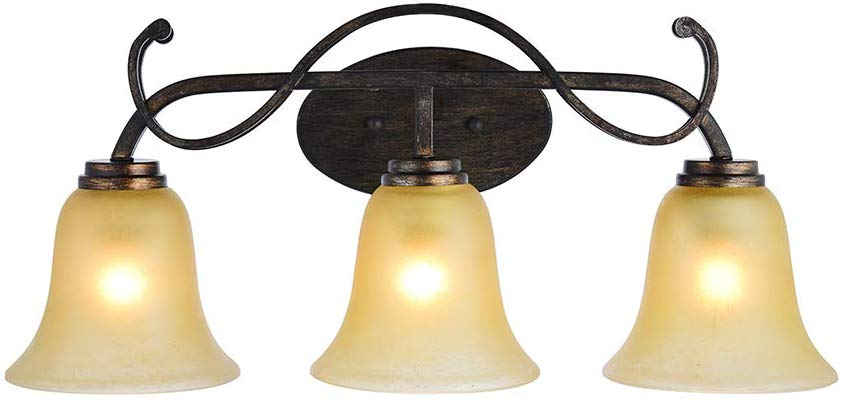 Ankee 3 Light Vintage Wall Sconce Retro