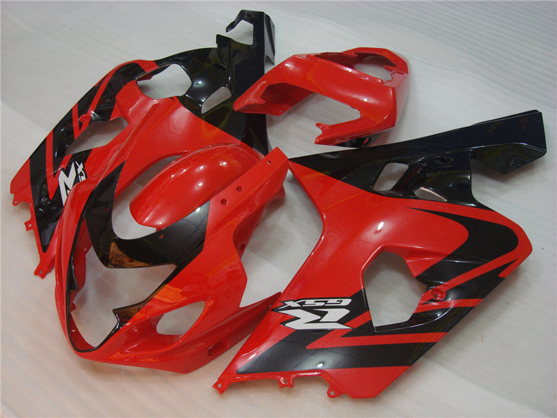 Red Flame New Injection Fairing Fit for Suzuki 2004-2005 GSXR 600 750 ABS d06i
