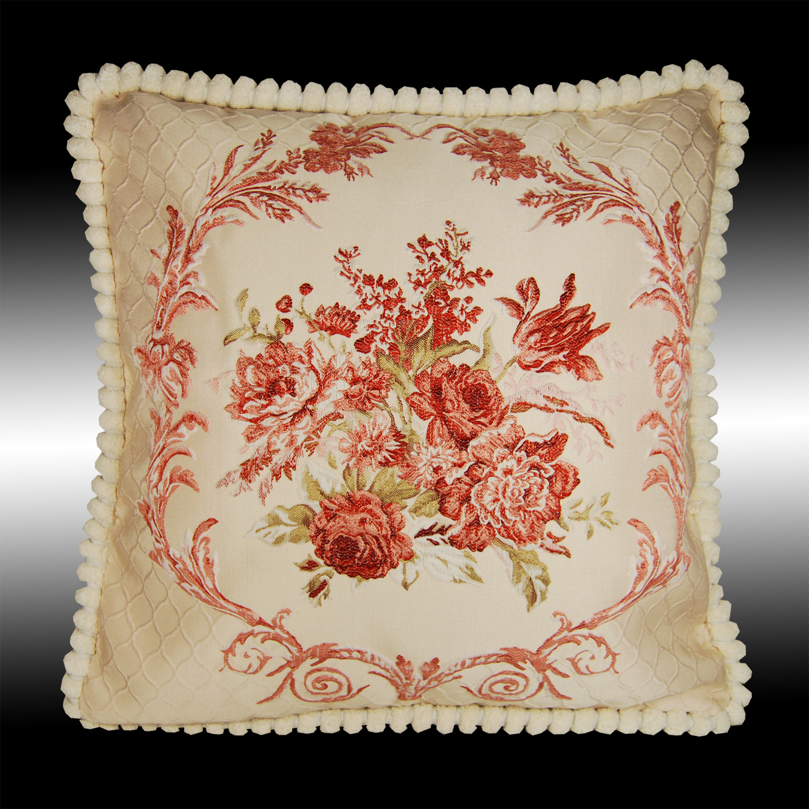 Astonishing Details About Red Floral Tapestry Soft Velvet Throw Pillow Case Cushion Cover Chair Pad 20 Inzonedesignstudio Interior Chair Design Inzonedesignstudiocom