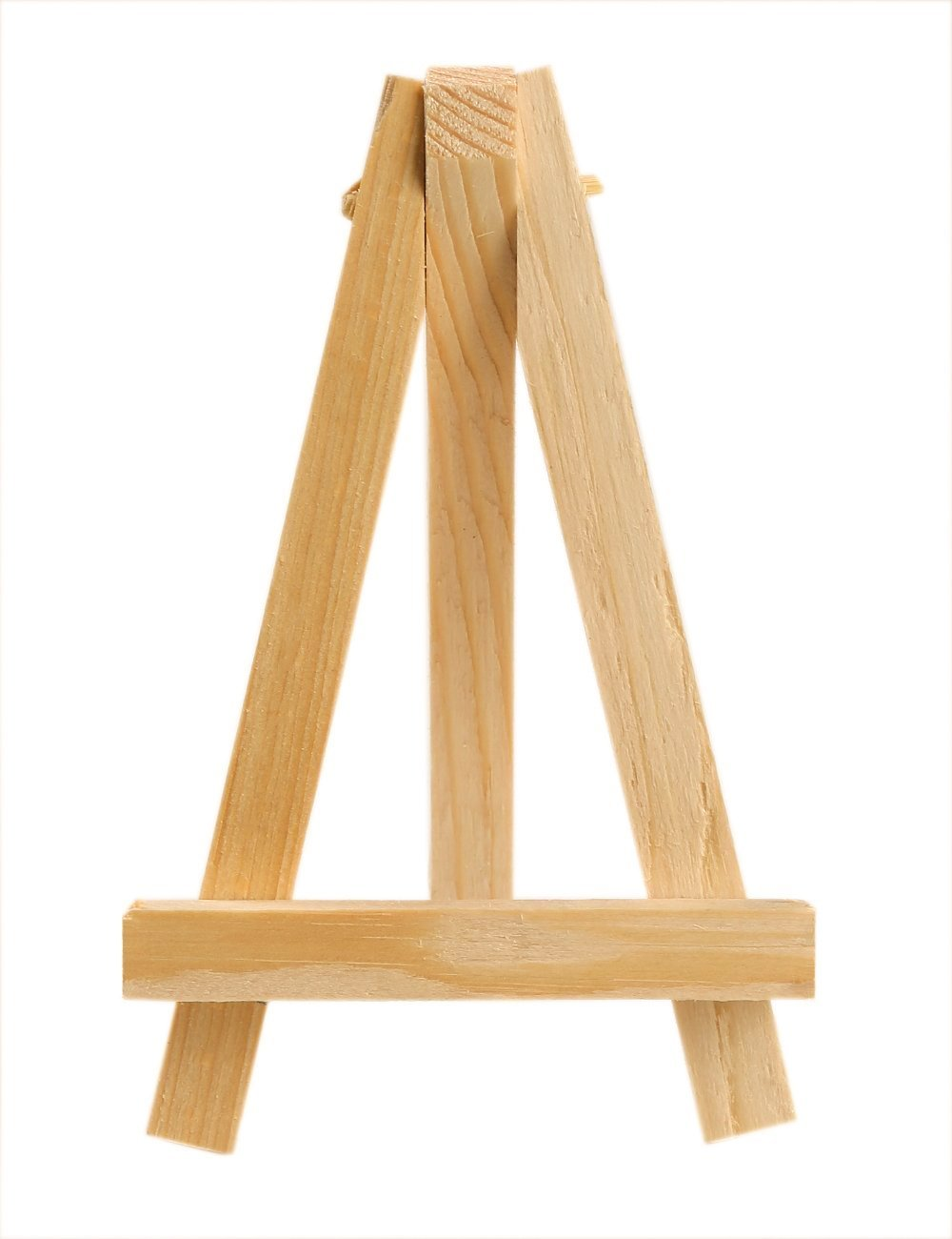 Meeden 24pcs Wooden Easel Pine Wood Art Display Painting
