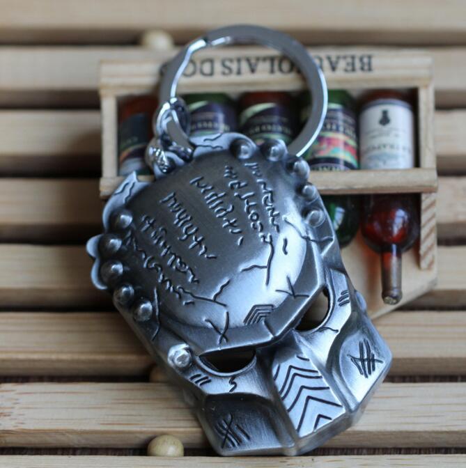 DZ1267 AVP Alien vs Predator logo 3D Metal alloy Keychain Keyring ~Bronze ✿