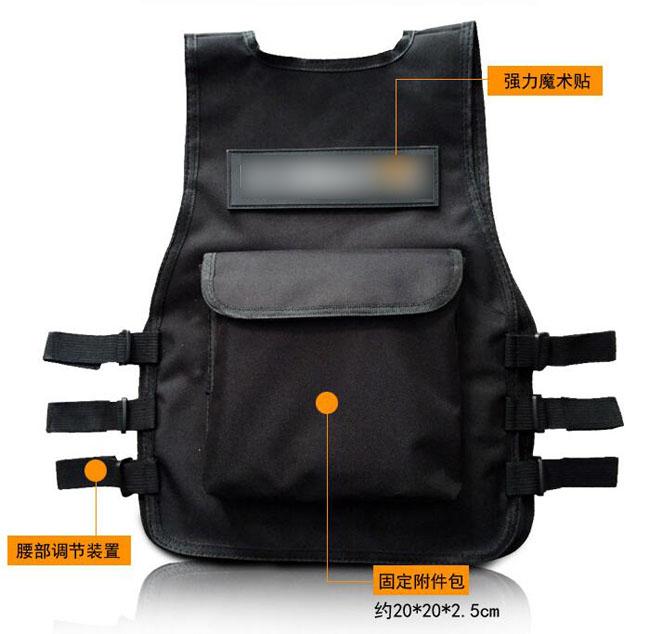 Outdoor Children Nylon Tactical Vest CS Combat Training Protective Vests S7-13Y