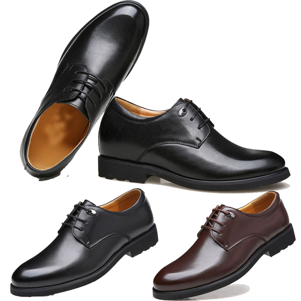 6334fcf9524 Details about Mens Leather Shoes Dress Shoes Business Wedding Shoes pigskin  formal office US14