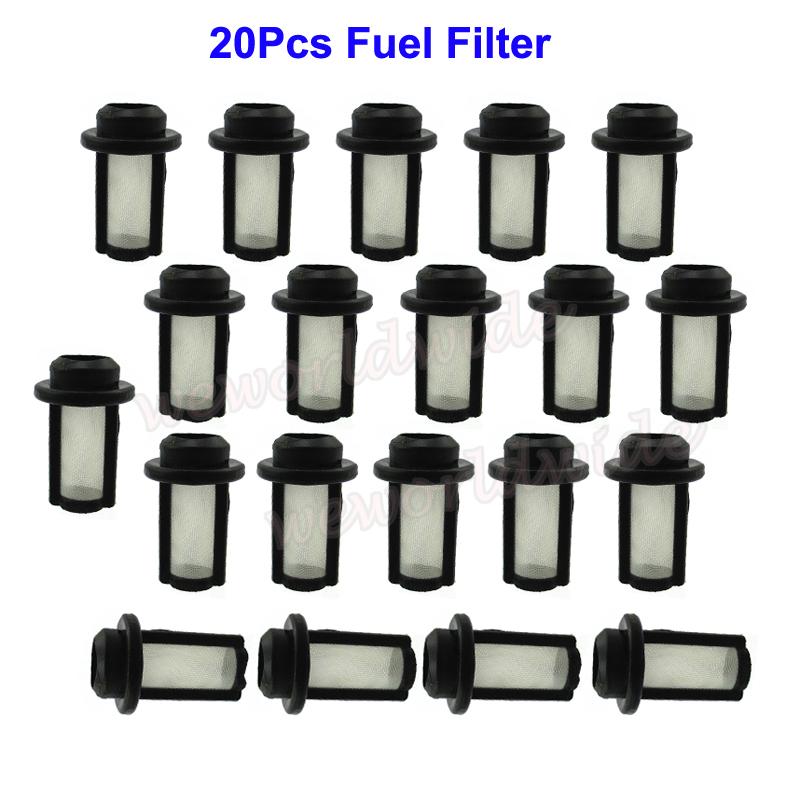 20Pcs Fuel Filter For All PWC With SBN SBNi Mikuni Carburetors 13-0109  270500115 | eBayeBay