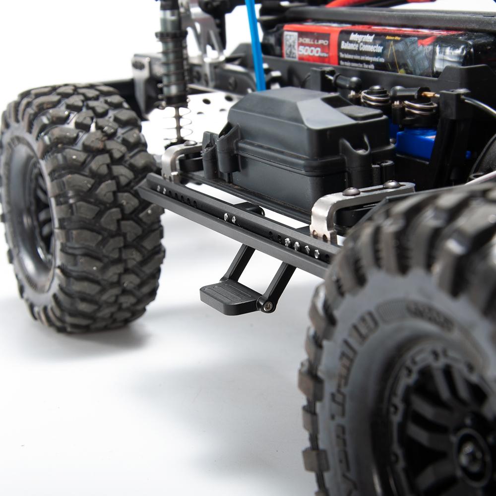 1Pair Alloy Metal Pedal Side Board for Traxxas trx-4 bronco //10 RC Crawler #C