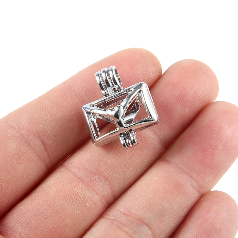 10Pc Silver Double Side Football Charm Pendant DIY Necklace Craft Making Gift