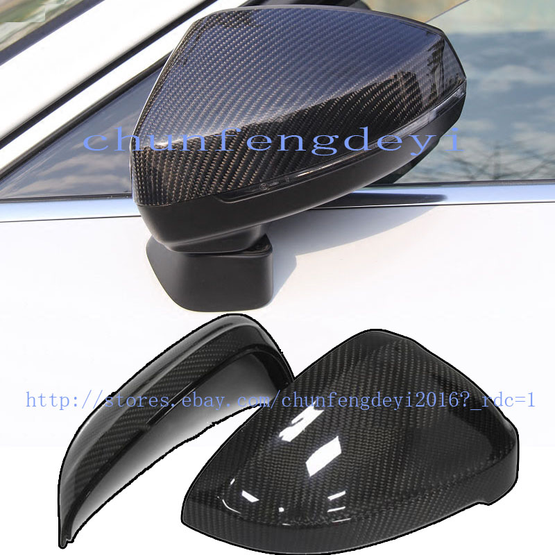 Chrome wing mirror cover caps fits Audi A3 10-13