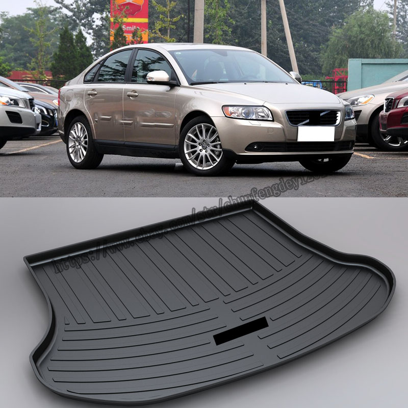 For Volvo S40 2008-2015 Rear Trunk Tray Cargo Boot Liner