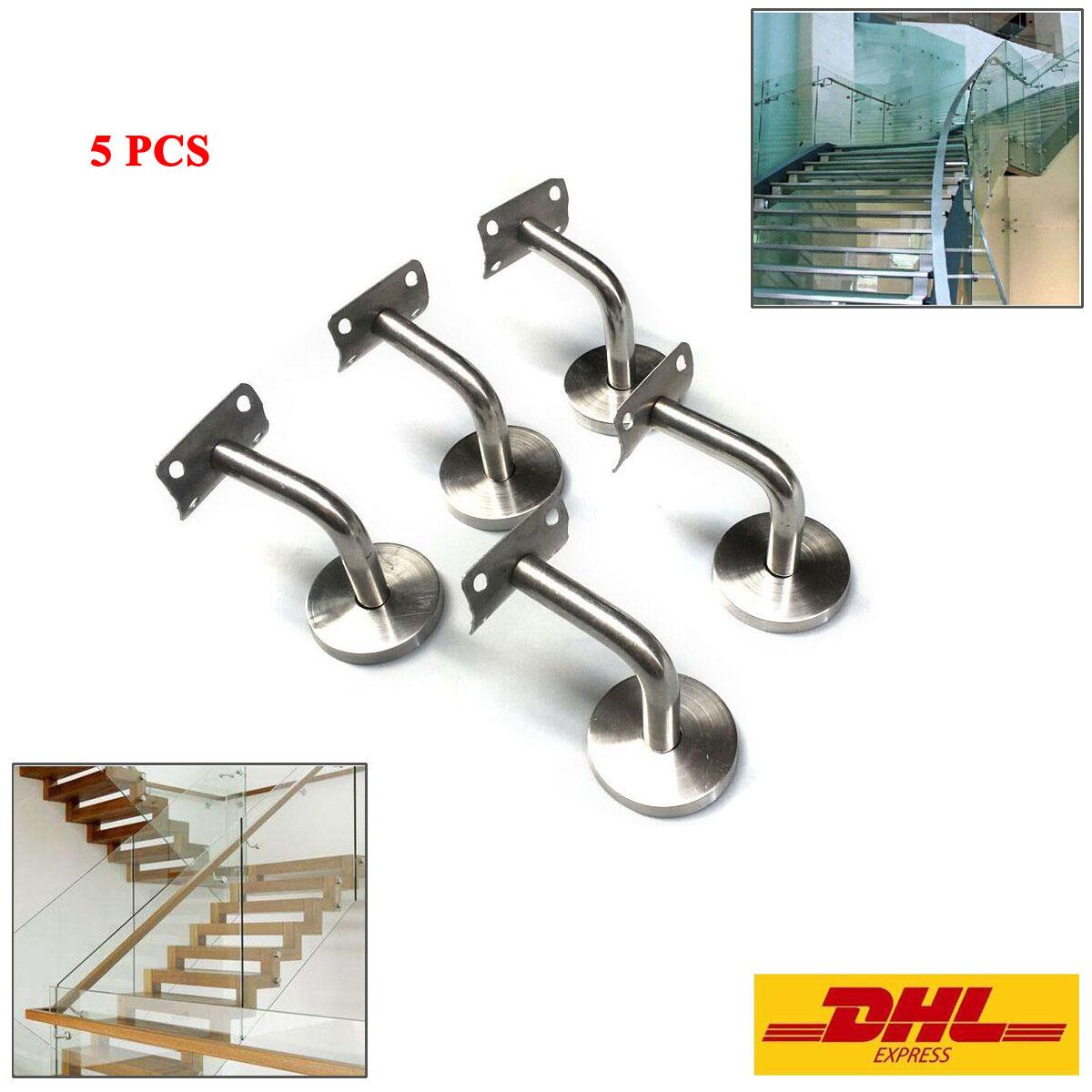 Main Courante Escalier Corde détails sur acier inoxydable main courante bannister escalier rail support  balustrade suppor