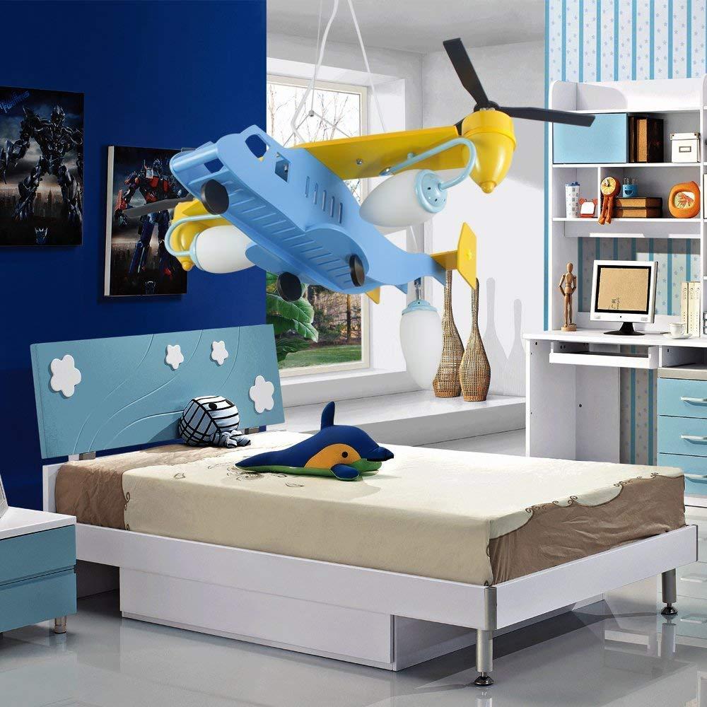 NATSEN® Kinderlampe Kinderzimmer Deckenleuchte Deckenlampe Flugzeuge ...