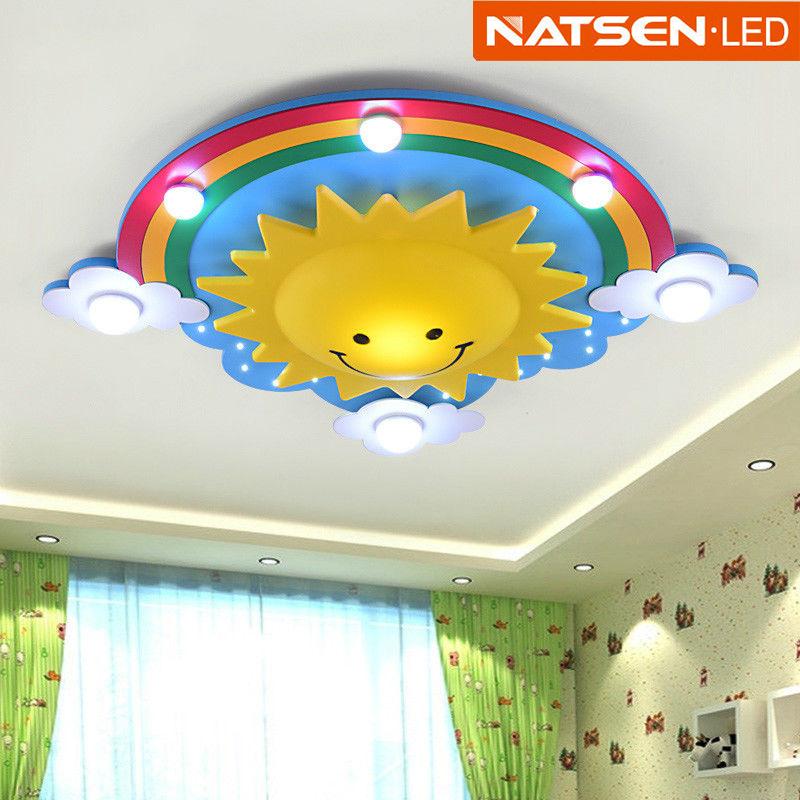 NATSEN® Kinder lampe Deckenlampe Kinderzimmerlampe Deckenleuchte 24W ...
