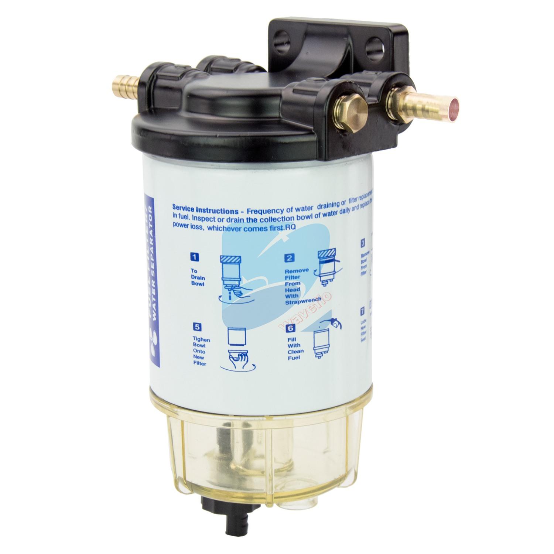 Fuel Water Separator Filter >> Boat Fuel Filter Marine Fuel Water Separator Mercury Yamaha