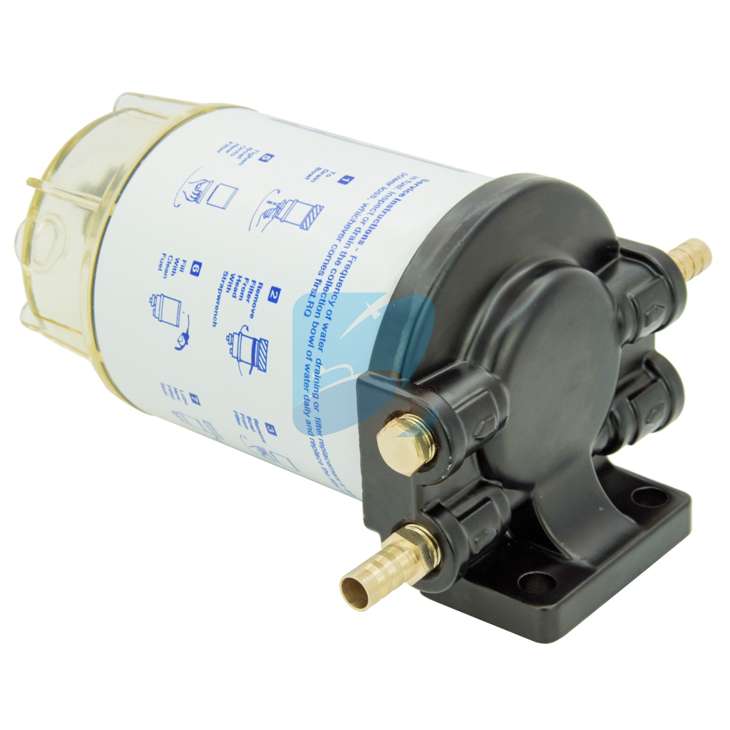Boat Fuel Filter Marine Water Separator Mercury Yamaha Outboard Filters 10 Micron