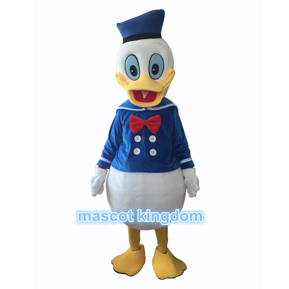 Best Quality Donald Duck Mascot Costume Halloween Party Fancy Dress Adult Outfit  sc 1 st  eBay & Best Quality Donald Duck Mascot Costume Halloween Party Fancy Dress ...