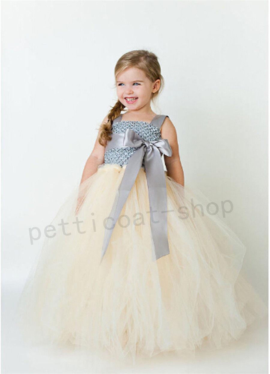 Kid girl baby birthday wedding bridesmaid gown formal dresses party kid girl baby birthday wedding bridesmaid gown formal ombrellifo Gallery