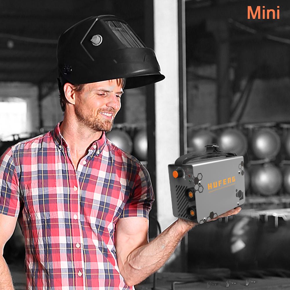 Portable Arc Welding Machine Inverter Welder MMA IGBT 10-200 Amp 220V Rod φ2.5
