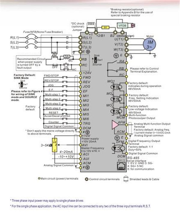 37kw Delta Vfd Inverter 50hp 3phase 380v Vfd B Variable