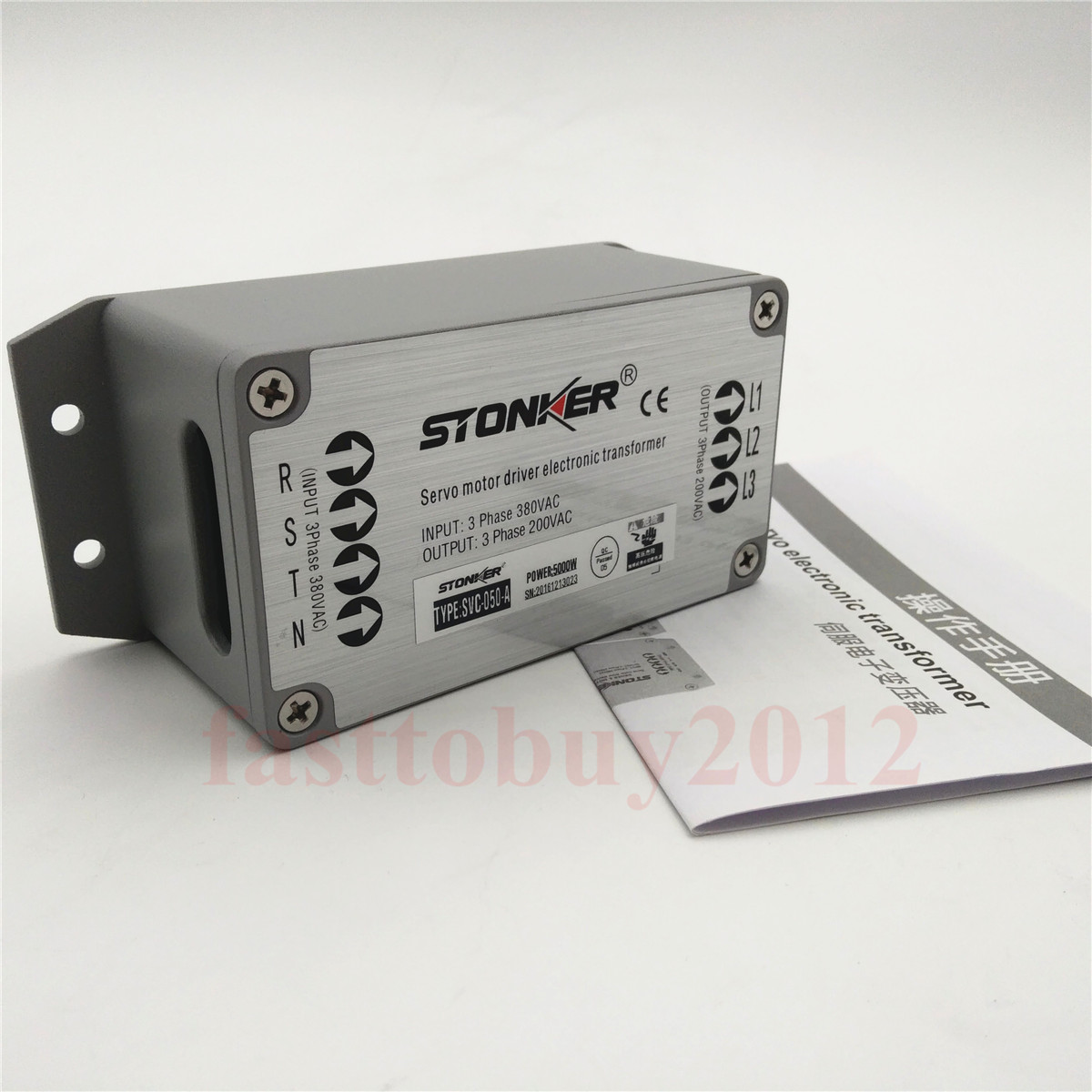 Details about 380V to 220V Electronic Transformer for 5KW Servo Drive Power  Supply 3PH Stonker