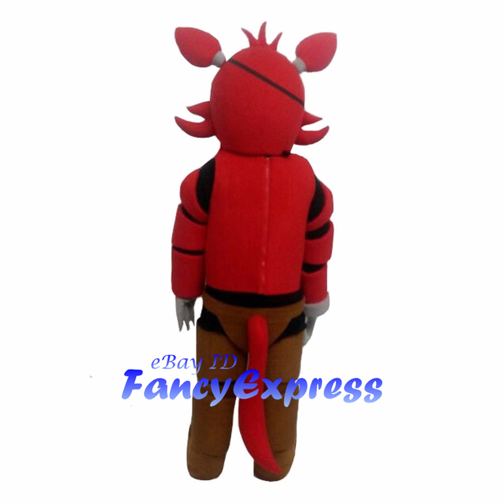 one eyed funtime foxy mascot costume five nights at freddys fnaf cosplay party