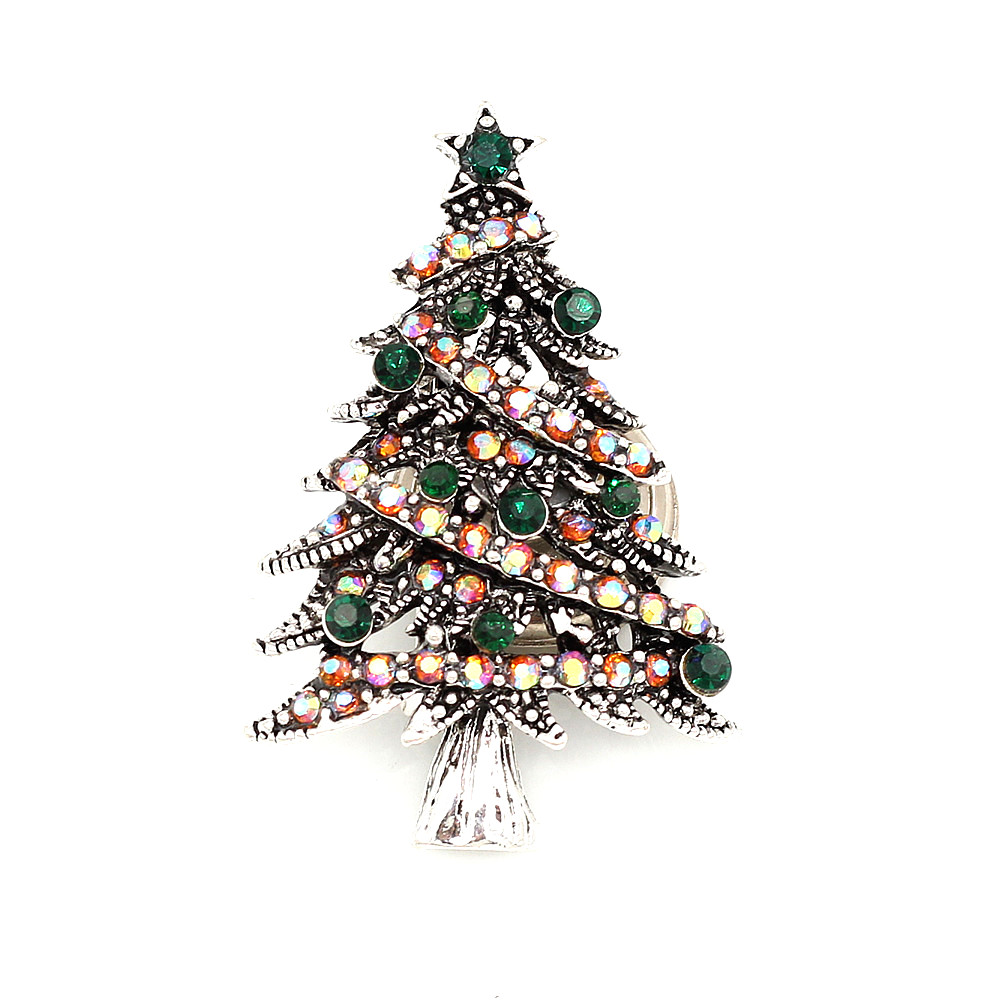 Pin By Crystal Johnson On Baldwin Hills Dam Break: Betsey Johnson Crystal Rhinestone Christmas Tree Charm