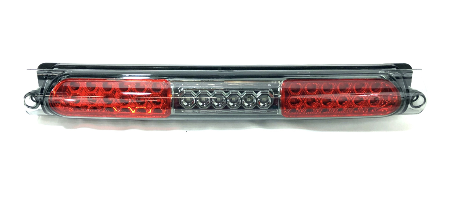 97-03 F150 Black Headlights+Red Lens Tail Lamps+Smoke LED 3rd Brake
