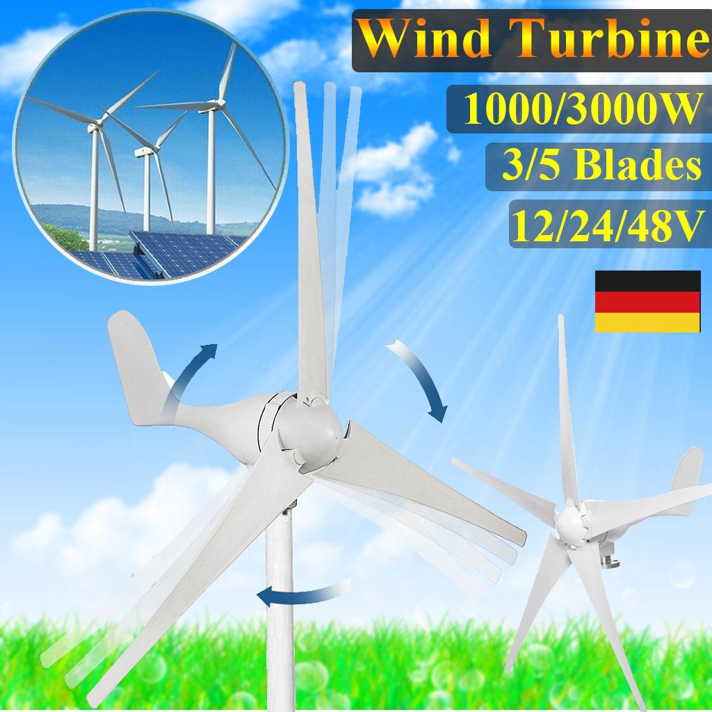 48V 3000W  POWER Inverter Windkraftanlage-Windturbine Turbine Generator Energy