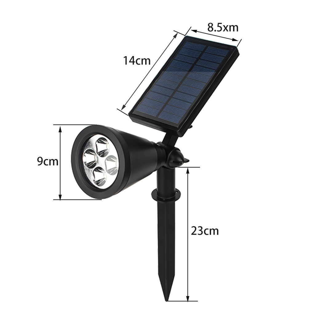 Led Solar Powered Plant Grow Light Indoor Outdoor Growth Lamp Greenhouse Flowers Ebay