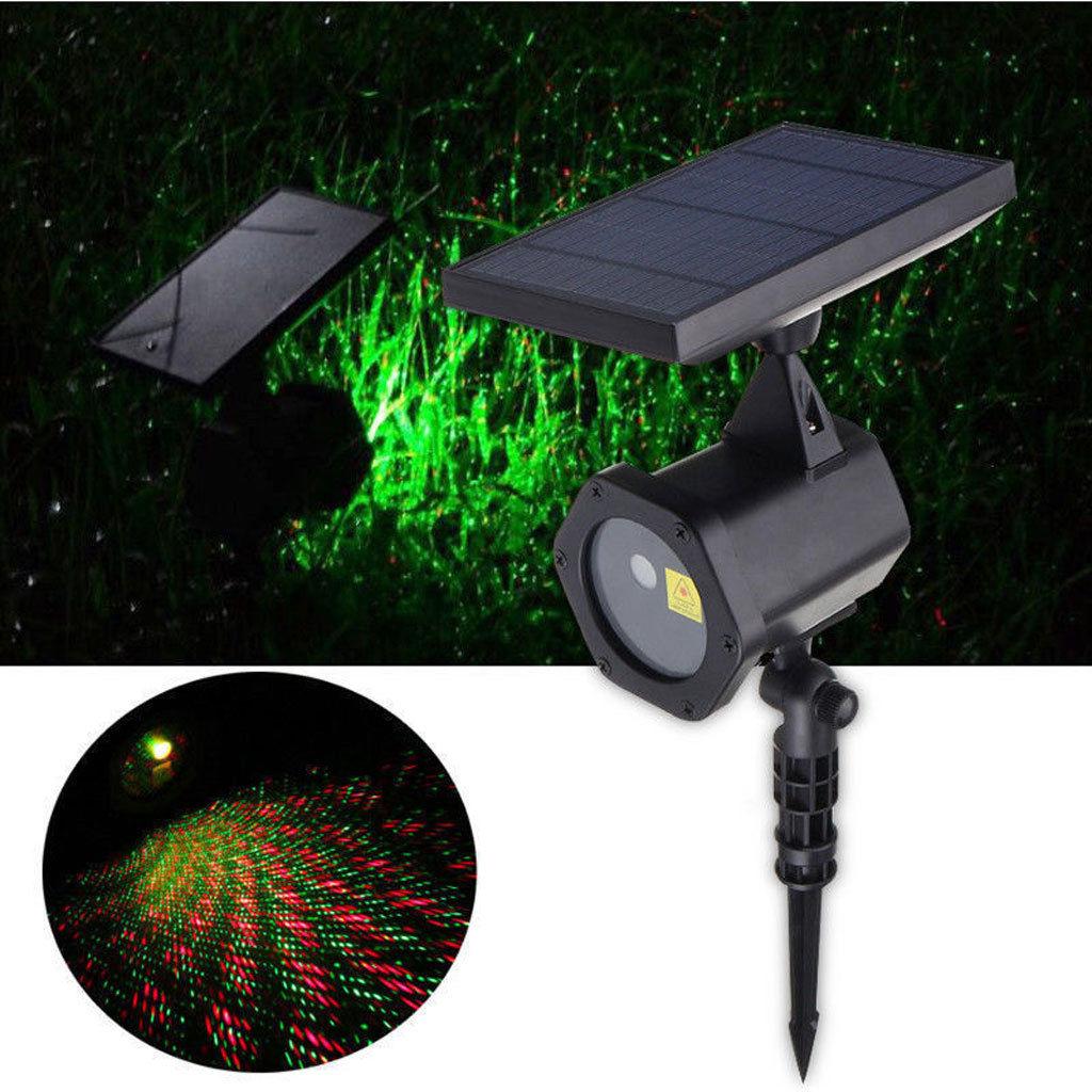 Solaire Led Lumi 232 Re Laser Dynamique Projecteur Rouge