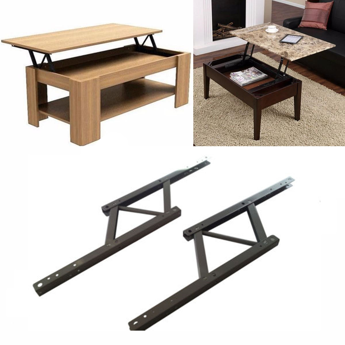 Iron Lift Top Coffee Table Mechanism Diy Hardware Lift Up