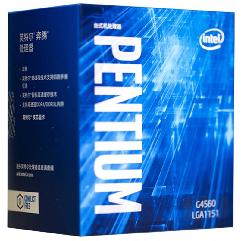 Details About Intel Pentium G4560 3 50 Ghz Dual Core Lga1151 Processor Kaby Lake Desktop Boxed