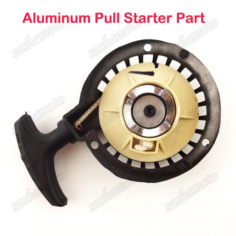 Alu Metal Recoil Pull Start Starter For 43cc 47cc 49cc Mini Pocket Dirt Bike ATV