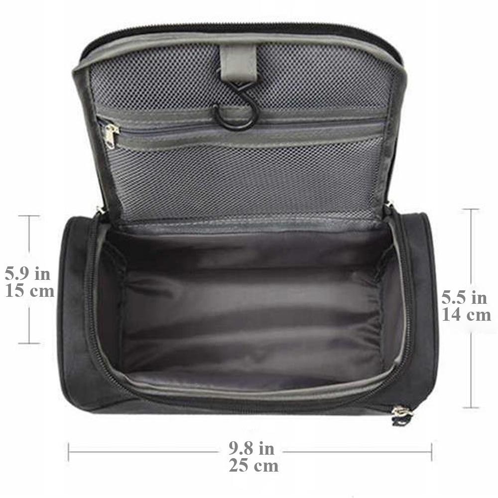 Mens Hanging Toiletry Bag Dopp Kit Shaving Travel Makeup Organizer Case For  Men f7d2ab0c260e5