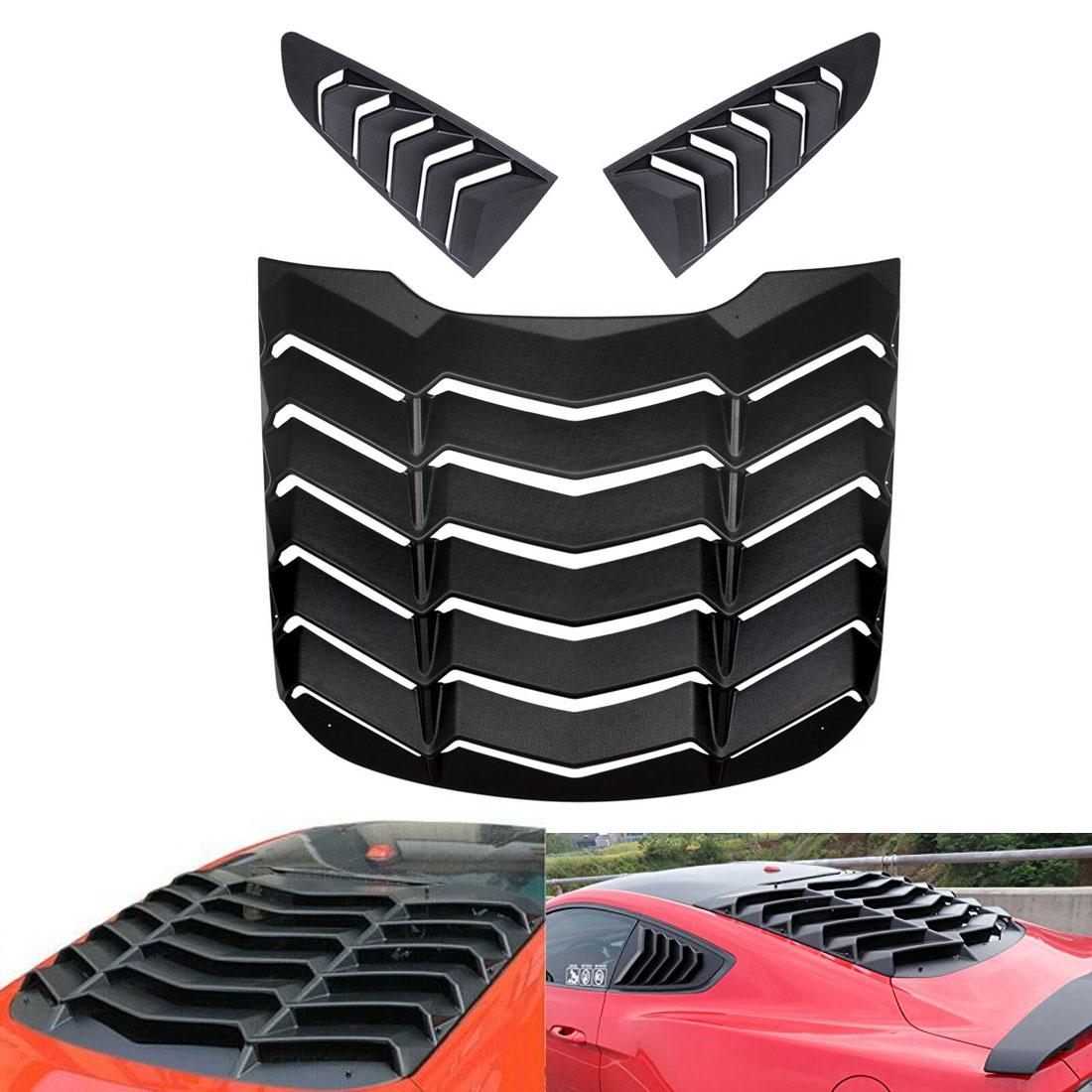 Car & Truck Exterior Mouldings & Trim Matte Black Window Louver ...
