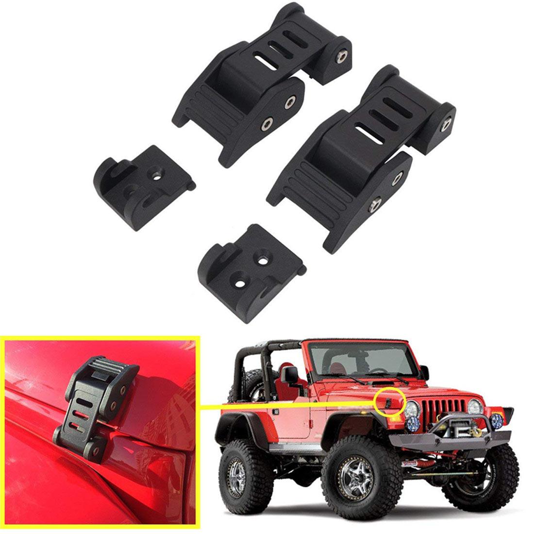 Rugged Ridge 11210.11 Hood Latch Assembly fits  2007-2018 Jeep Wrangler JK JKU