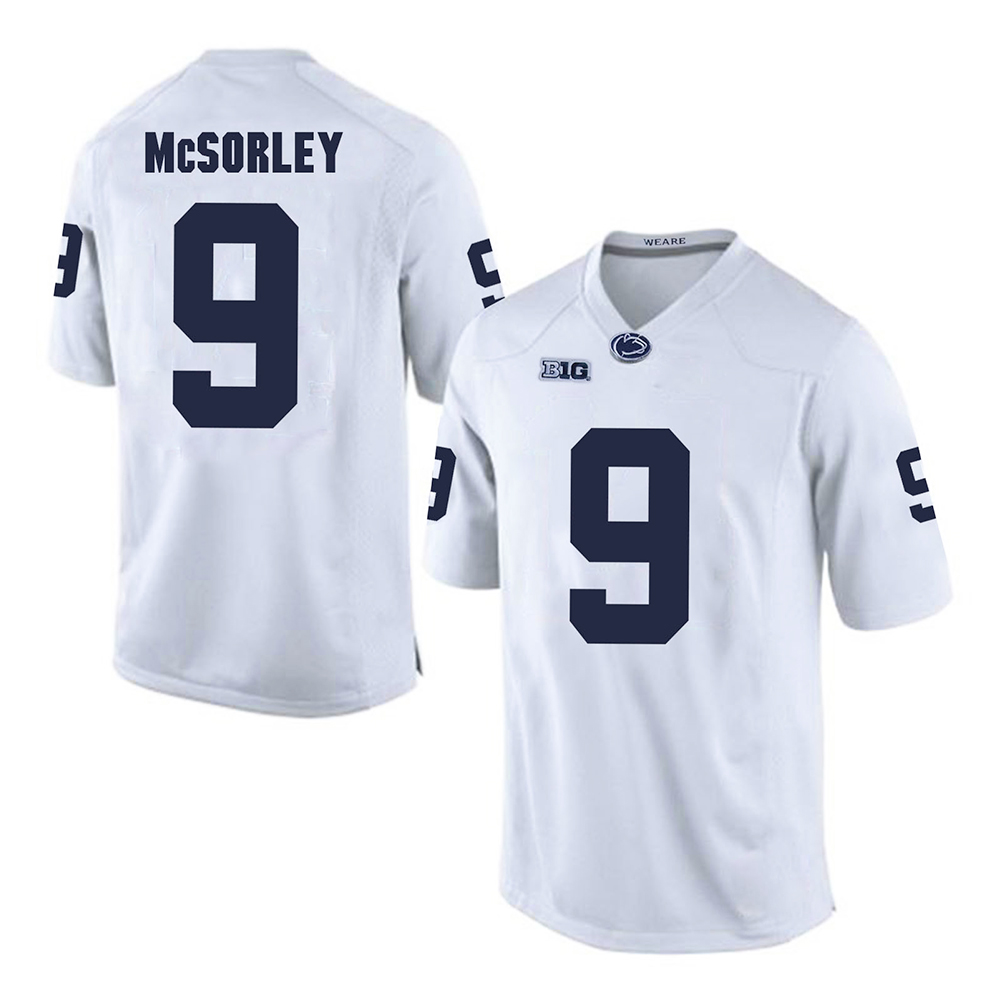 82ba48b17 Trace McSorley  9 Penn State Nittany Lions Stitched Jersey Football College  Mens