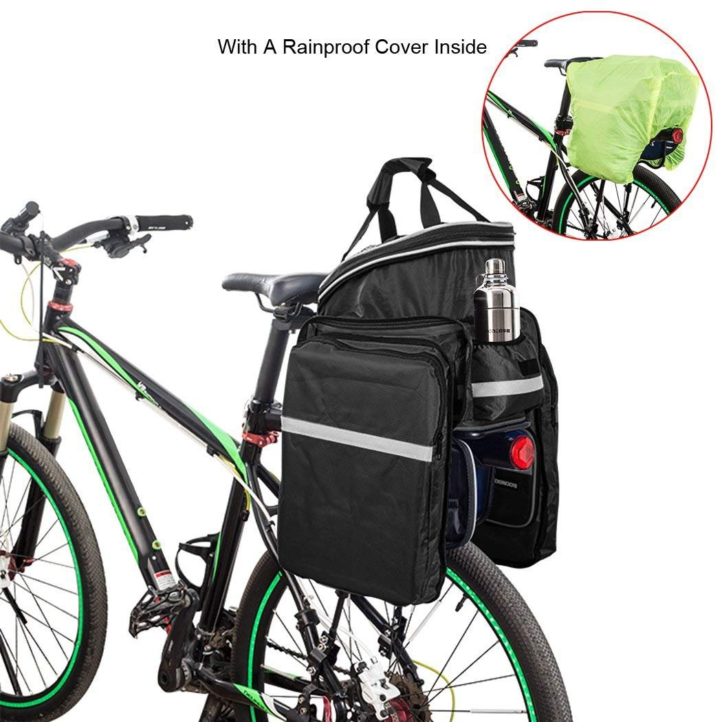 Bicycle Bike Mini Storage Saddle Bag Under Seat Pack Cycling Tail Rear Pouch #N