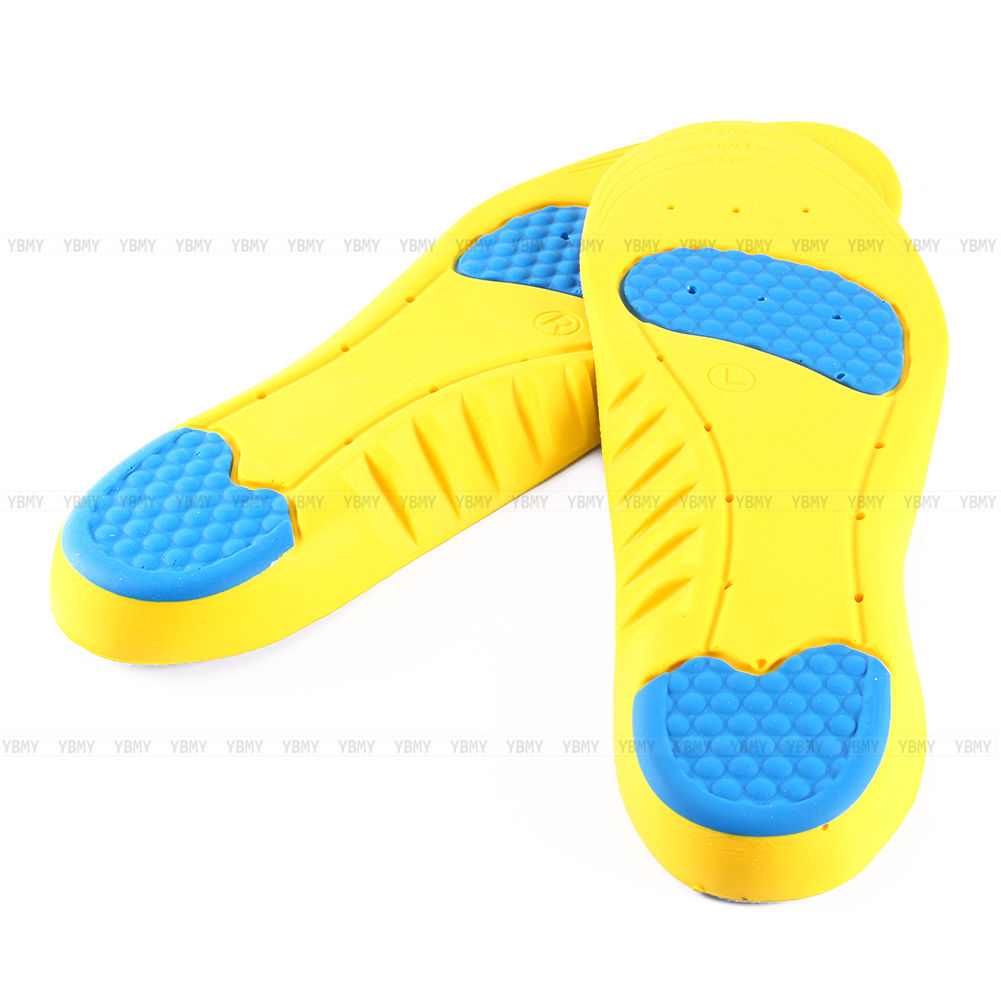 Mens Womens Shoes Insoles Orthotic High Arch Support Insert Pad Pain Relief KY