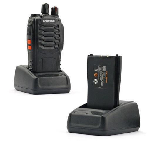 Baofeng BF-888S UHF 400-470MHz 5W Handheld Two way Ham Walkie Talkie  Radio LN