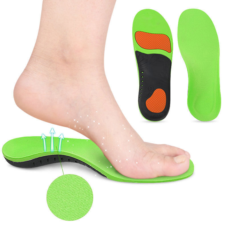 H Orthotic Insoles Plantar Fasciitis Arch Support Flat Feet Foot Inserts Gel Pad