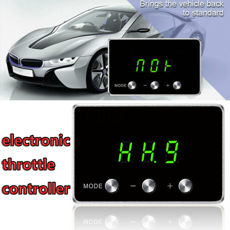 Car Electronic throttle controller Pedal Booster For AUDI A6 ALL ENGINES 2008+