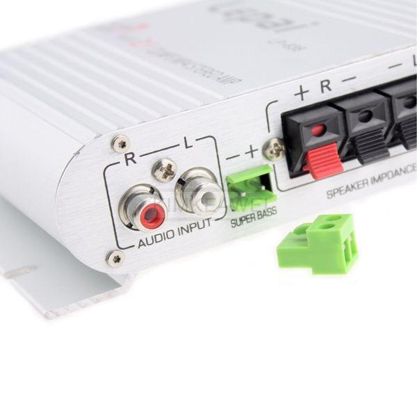 12V 200W Mini Hi-Fi Amplifier iPod MP3 Stereo Car Bike Home ...