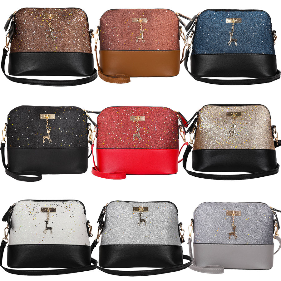 ffc643f458b2 Women Ladies Crossbody Leather Shoulder Bag Tote Purse Handbag Messenger  Satchel