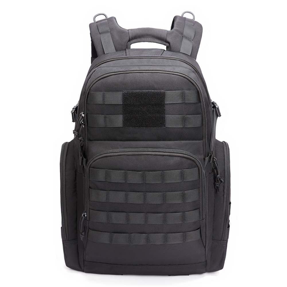 KALIDI Military Backpack Tactical Rucksack Molle Style 40L Travel Camping  Black c78dd334653