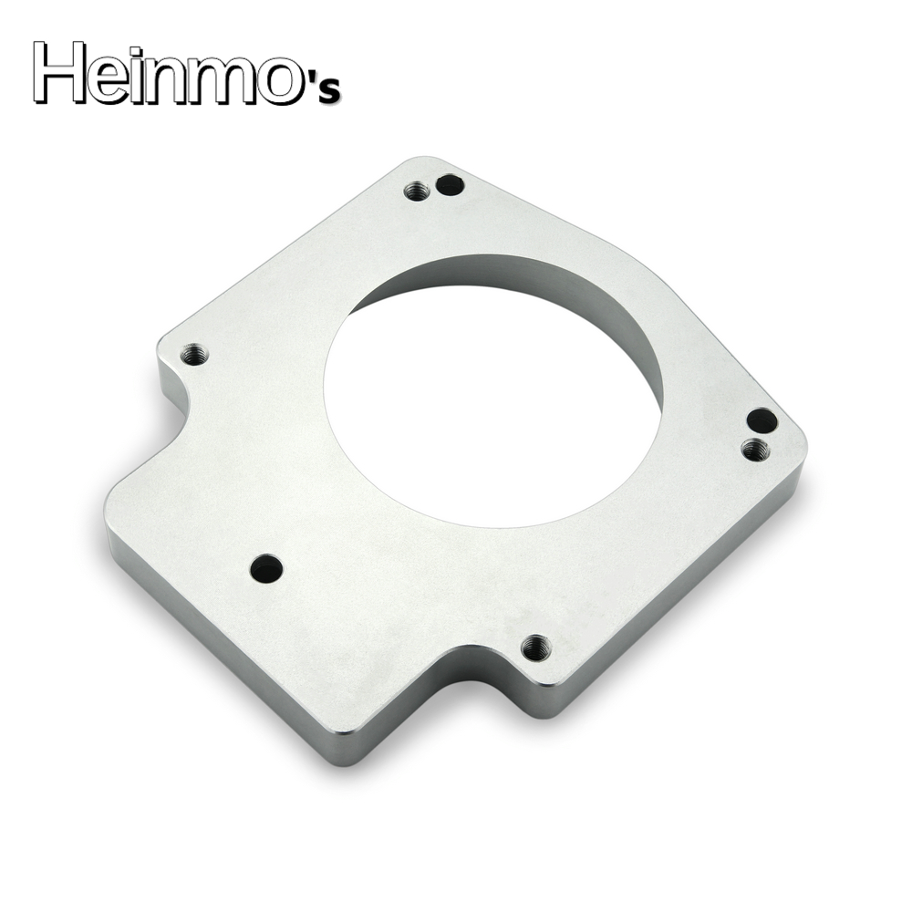 Ls2 Engine Plate: 102mm Throttle Body + Manifold Adapter Plate For GM GEN