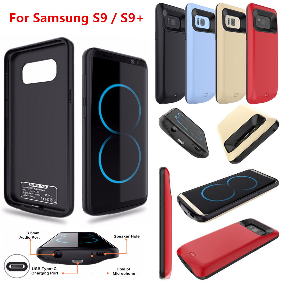 External Back Power Bank Pack Battery Charger Case For