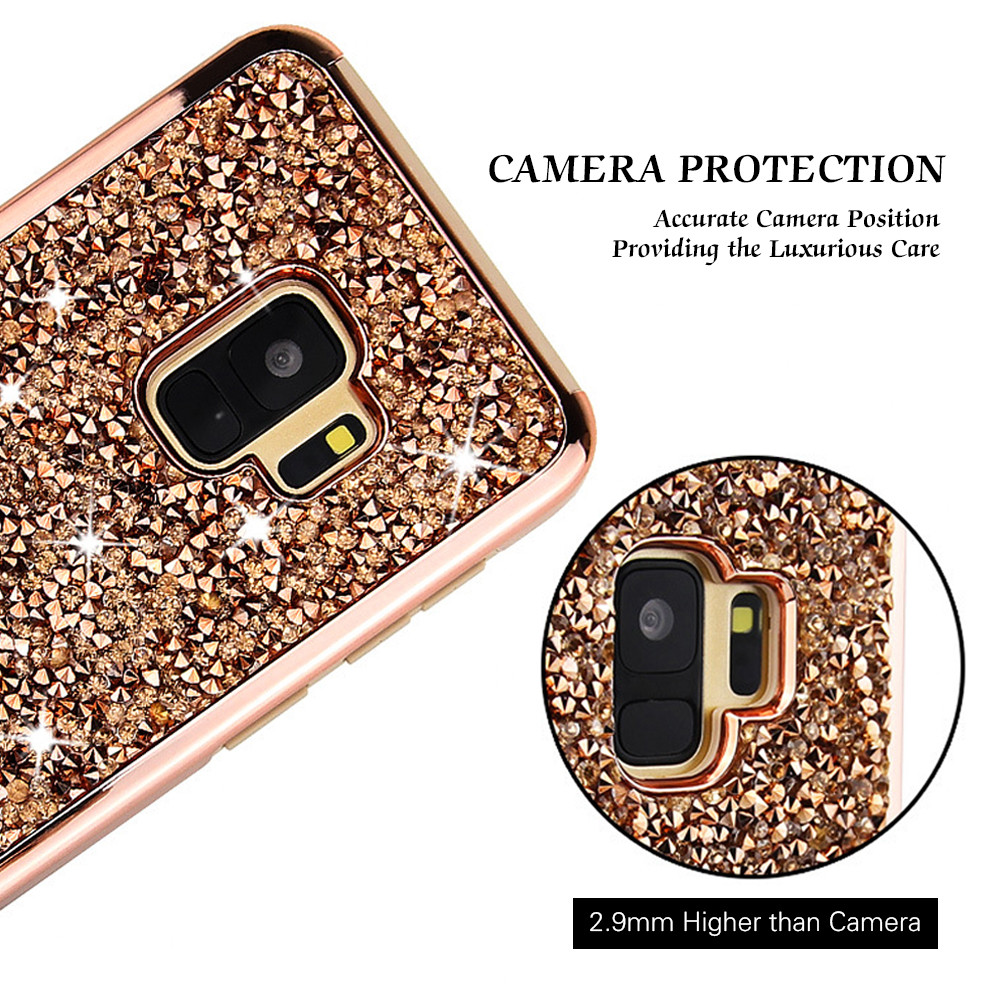Vogue Shockproof Glitter Sparkle Case Cover For Samsung Galaxy S9 Asoftcase S8 Plus Note 8