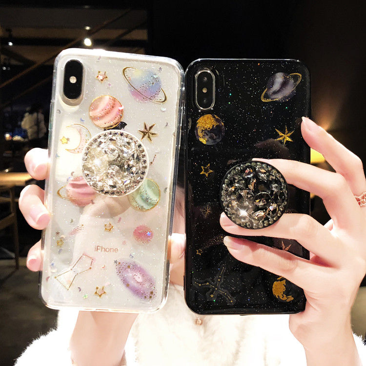 setting up the stars. iPhone 11 case